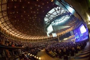 Multifunkční hala Gong získala titul Dům roku 2013. Foto poskytl Magistrát města Ostravy